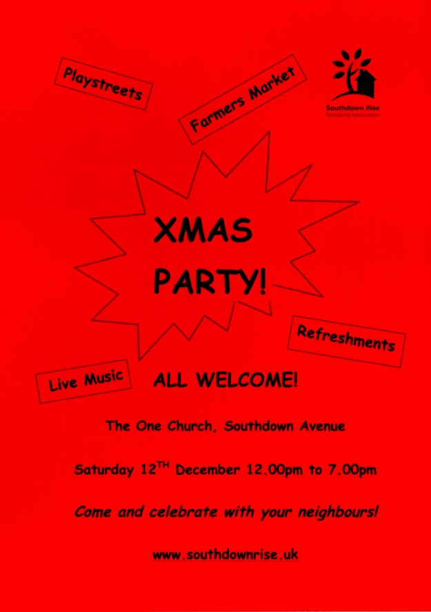 2015 Xmas Party Invitation