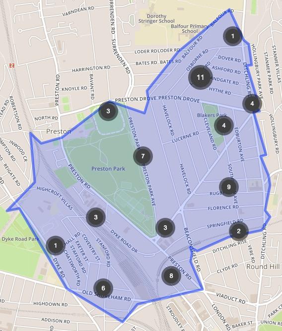 Jan Crime Map
