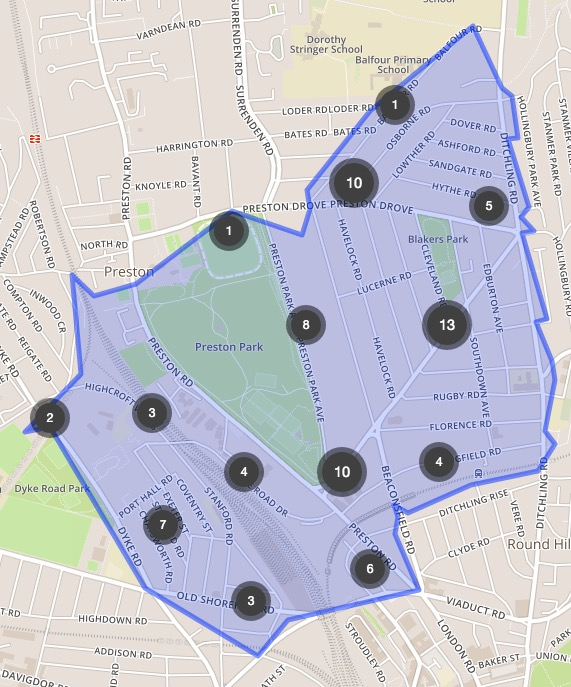 Crime Map Feb 2016
