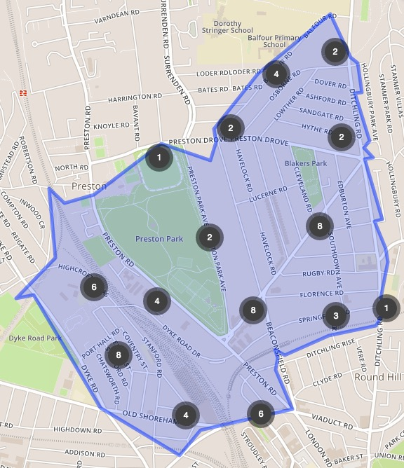 Crime Map March 2016