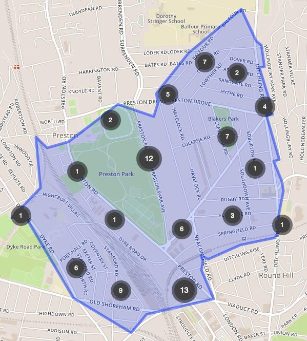 Crime Map June 2016