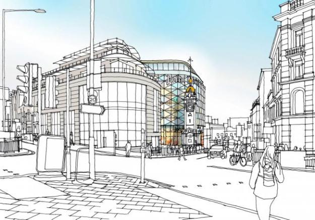 The proposed John Lewis store