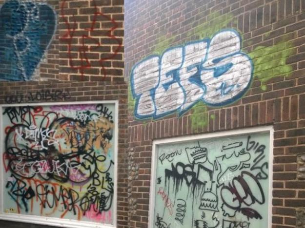 SHW request council action on 'ugly' illegal tagging and graffiti